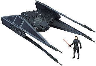 Star Wars STARWARS Force Link Kylo RenS Tie Silencer & Kylo Ren (Tie Pilot) Figure