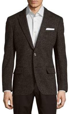 HUGO BOSS Hadley Wool Long-Sleeve Jacket