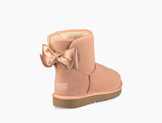 UGG Classic Mini Satin Bow Boot