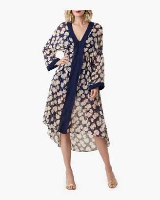 Diane von Furstenberg Terry Floral Kimono Dress