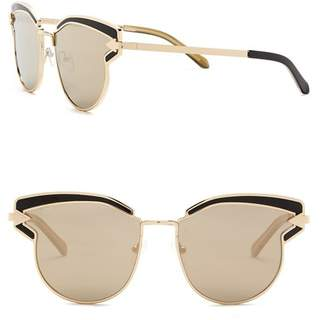 96a0345ce6a8 Karen Walker Superstars Felipe 57mm Cat Eye Sunglasses