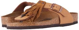 Birkenstock Kids Gizeh Fringes Girl's Shoes