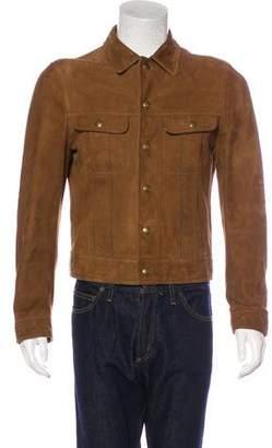Tom Ford Lambskin Trucker Jacket