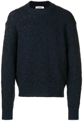 Jil Sander distressed sweater