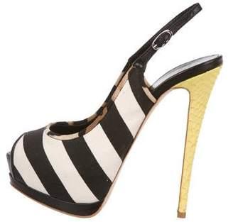 Giuseppe Zanotti Patterned Platform Sandals