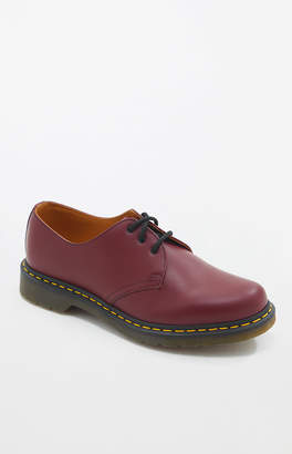 Dr Martens 1461 Smooth Leather Cherry Red Shoes