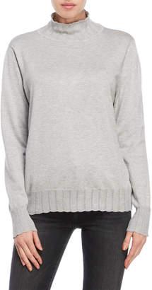 Joseph A Pointelle Turtleneck Sweater