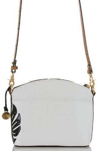 Brahmin Mini Duxbury Crossbody Monaco White