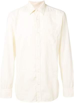 Ermenegildo Zegna plain fabric shirt