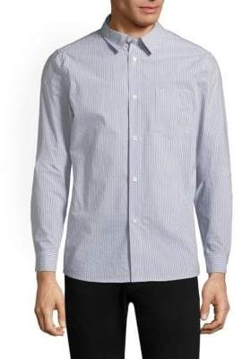 A.P.C. Franklin Button-Front Shirt