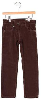 Eddie Pen Girls' Corduroy Five Pocket Pants w/ Tags brown Girls' Corduroy Five Pocket Pants w/ Tags