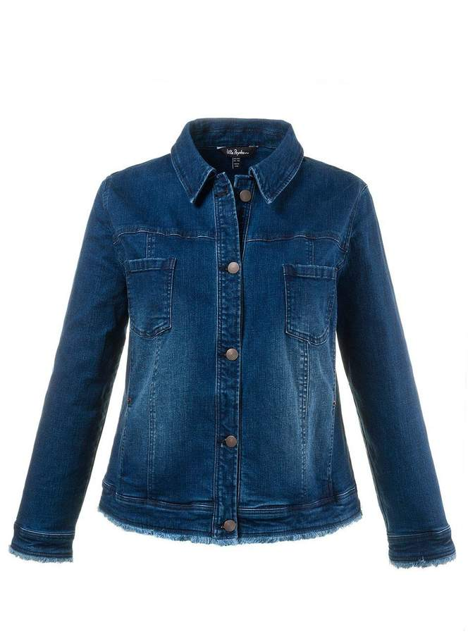 Jeansjacke mit Taschen bleached NEU