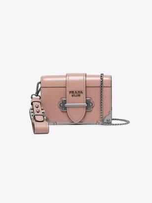 Prada Cahier mini shoulder bag