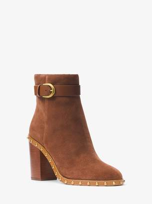 MICHAEL Michael Kors Livvy Suede Ankle Boot