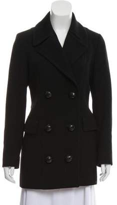 Blend of America Massimo Dutti Wool Double-Breasted Coat
