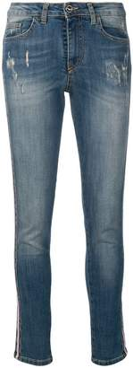 Blugirl side stripe jeans