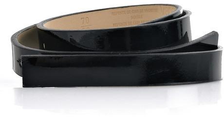 Vanessa Bruno Patent-leather skinny belt