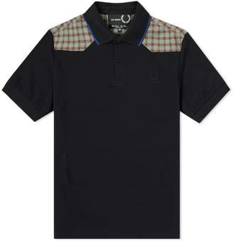 Raf Simons Fred Perry X Fred Perry x Check Shoulder Polo