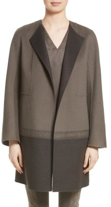 Women's Lafayette 148 New York Hayes Needle Punch Coat $998 thestylecure.com
