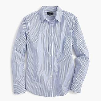 J.Crew Petite slim perfect shirt in striped stretch cotton