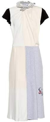 Balenciaga Cotton jersey midi dress