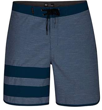 "Hurley Men's Apparel Men's Phantom Block Party Textured Slub 18"" Boardshort Swim Short"