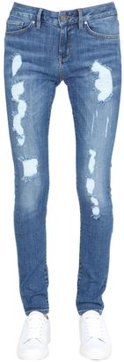 Tommy X Gigi Venice Raw Denim Jeans $185 thestylecure.com