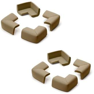 Prince Lionheart Corner Guards - Chocolate, 8 Pack