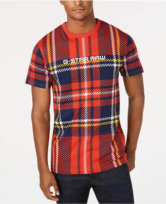 G Star Men Royal Tartan T-Shirt