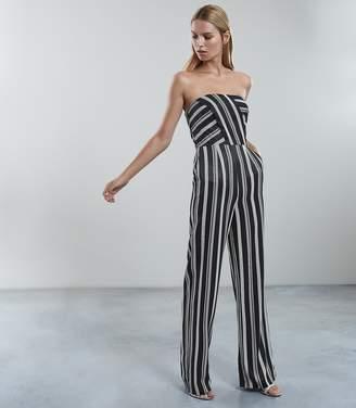 Reiss Vienna Striped Jumpsuit