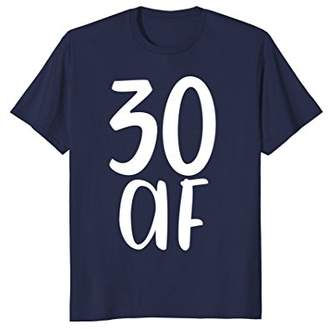 Abercrombie & Fitch 30 Fabulous Funny Tee Shirt Gift 30th Birthday Present