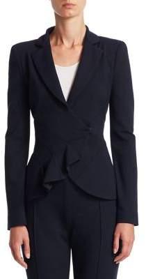 Emporio Armani Starburst Pleated Jacket