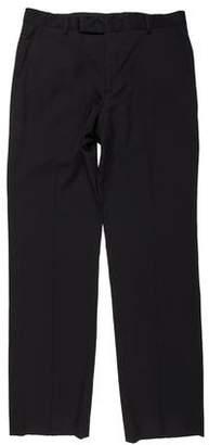John Varvatos Wool Wide-Leg Pants