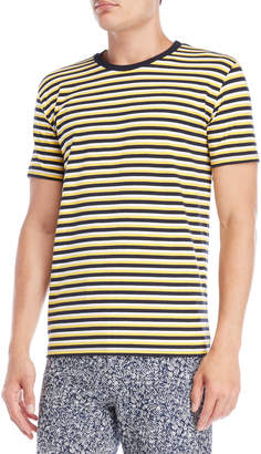 Le Mont St Michel Stripe Short Sleeve Tee