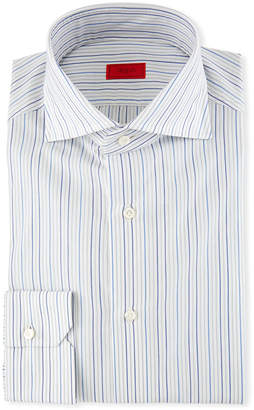 Isaia Multi-Stripe Dress Shirt