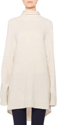 The Row Mandel Cashmere Oversized Turtleneck Sweater