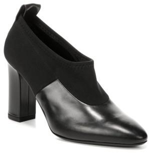 Women's Via Spiga Bayne Block Heel Bootie $295 thestylecure.com