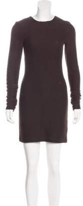 Kimberly Ovitz Long Sleeve Sheath Dress