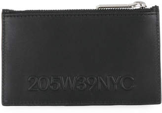 Calvin Klein logo zipped wallet