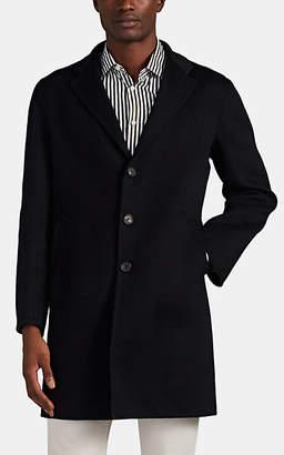 Barneys New York Men's Double-Faced Cashmere Coat - Navy