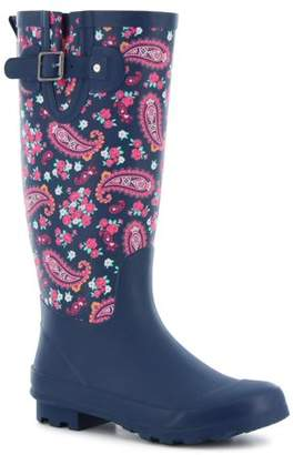 Western Chief Women's Classic Tall Pleasant Paisley Rain Boots