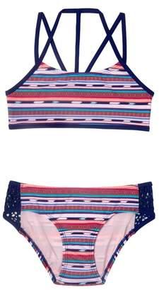Gossip Girl Desert Stripe Two-Piece Swimsuit