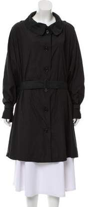 Ann Demeulemeester Lightweight Knee-Length Coat