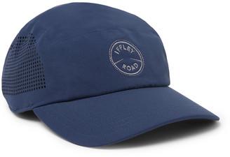 Iffley Road Putney Logo-Embroidered Pique Cap - Men - Blue
