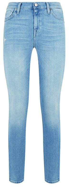 Slim Illusion Cropped Jeans