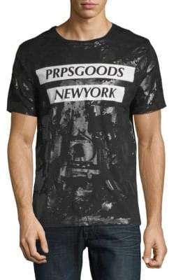 PRPS Print Cotton T-Shirt