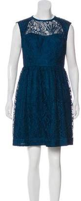 Trina Turk Lace Sleeveless Mini Dress