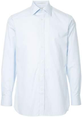 Gieves & Hawkes micro check shirt