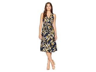 J.o.a. Button Up Wrap Dress Women's Dress
