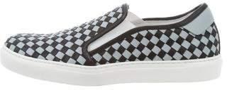 Bottega Veneta Woven Leather Low-Top Sneakers